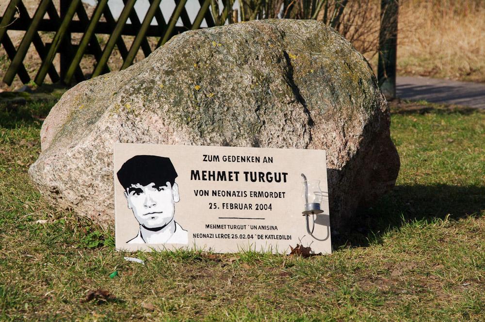 Im Neudierkower Weg in Rostock-Toitenwinkel stand der Imbiss, in dem Mehmet Turgut (25 Jahre) ermordet wird.