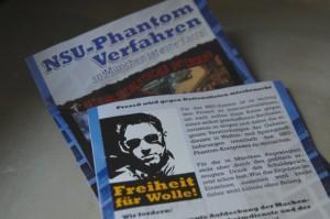 Die Flugblätter des neonazistischen FNS. Foto: a.i.d.a.
