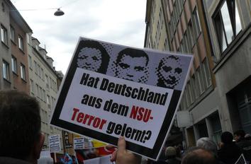 Demonstration für die NSU-Opfer am 13. April 2013 in München (Foto: Birgit Mair)