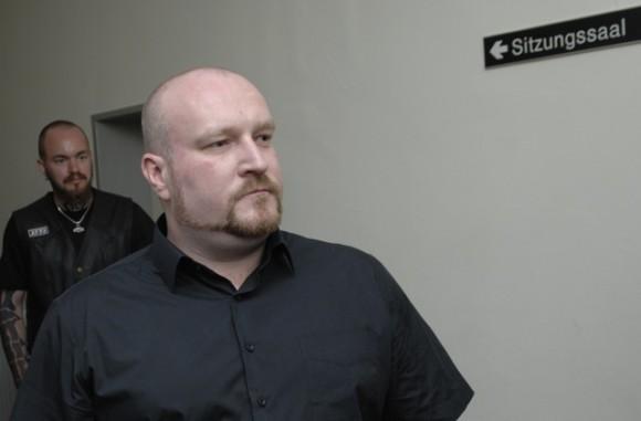 Martin Wiese bei einem Prozess in Gemünden 2012. Foto: Robert Andreasch