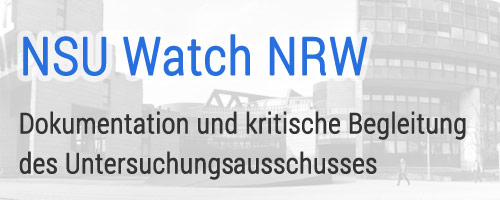 NSU Watch NRW