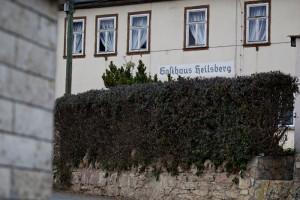 Heilsberg im Kreis Remda-Teichel, die Gaststätte ist ein ehemaliger Treffpunkt des Thüringer Heimatschutzes.  © Mark Mühlhaus/attenzione photographers http://attenzione-photo.com/
