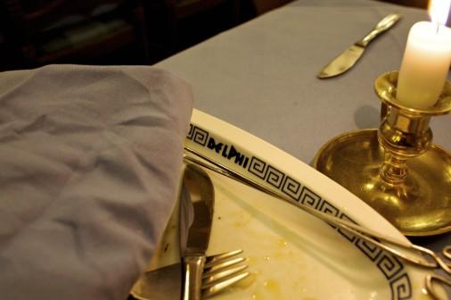 Coburg Restaurant Delphi (Griechisch) -Hier traf sich der V-Mann Tino Brandt wšchentlich mit seinen Vertrauensleuten vom ThŸringer Verfassungsschutz - sie sassen meist in der hinteren Ecke an der Wand. Hier: heimlich gemachte Innenaufnahme im Restaurant   © Mark MŸhlhaus/attenzione photographers [Inhaltsveraendernde Manipulation des Fotos nur nach Genehmigung des Fotografen. Vereinbarungen Ÿber Abtretung von Persoenlichkeitsrechten/Model Release der abgebildeten Person/Personen liegen nicht vor.]