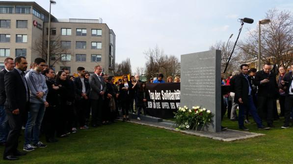 In Dortmund fand am 4. April 2016 eine Gedenkveranstaltung mit 500 Teilnehmenden statt. (c) NSU Watch
