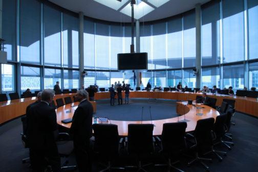 Der 2. NSU-Untersuchungsausschuss des Deutschen Bundestages tagt. (Archivbild) Copyright: Kilian Behrens/ NSU-Watch