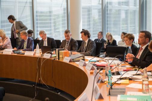 Der 2. NSU-Untersuchungsausschusses des Deutschen Bundestages. Copyright: Christian-Ditsch.de