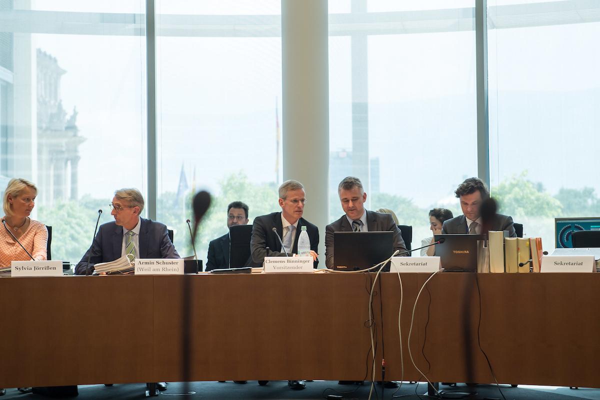 Sitzung des 2. NSU-Untersuchungsausschuss im Bundestag (Archivbild) Copyright: Christian-Ditsch.de