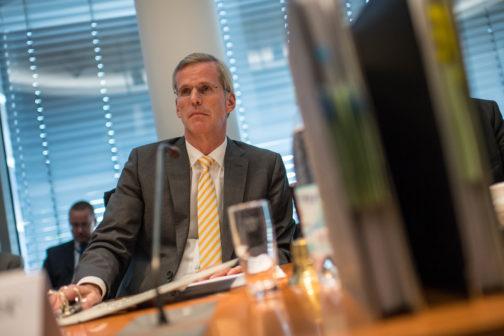Sitzung des 2. NSU-Untersuchungsausschuss des Deutschen Bundestages am Donnerstag den 8. September 2016. Copyright: Christian-Ditsch.de